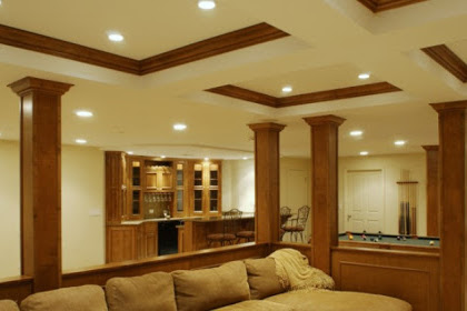 drop ceiling design ideas