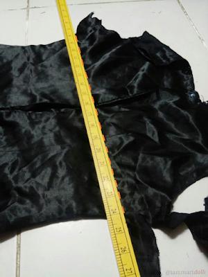 slip dress, refashion, sewing, Diy