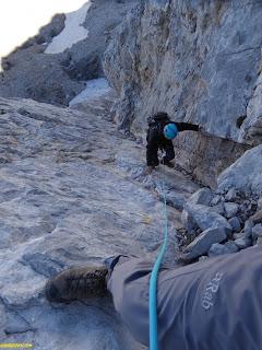 Zamberlan guide gtx, Fernando Calvo , guía de alta montaña ifmga picos de europa