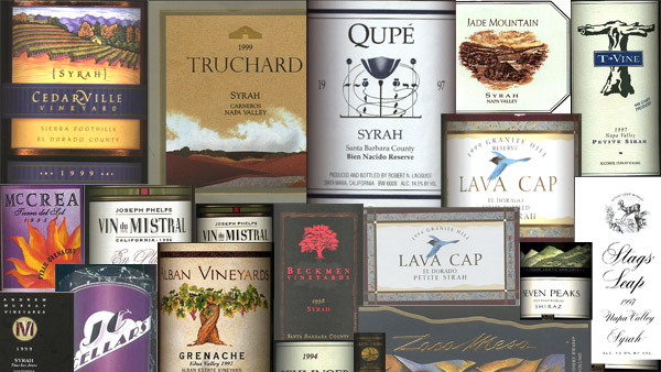 Rhone Ranger wines