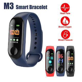 M3 braccialetto smartwatch