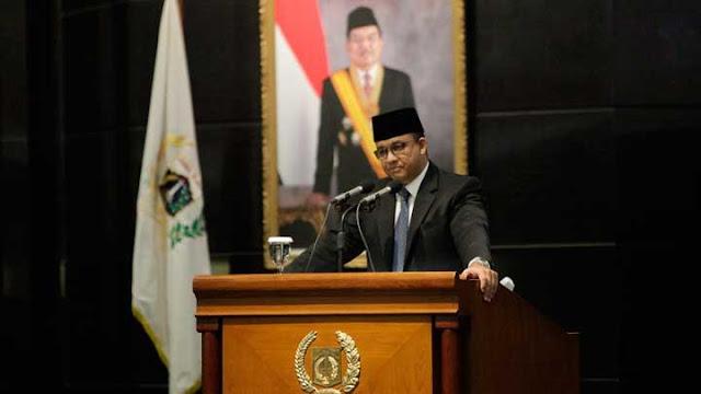 Gubernur Anies Baswedan