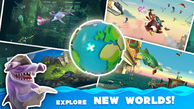 Hungry Shark World MOD APK+DATA v2.6.0 (Unlimited Money)