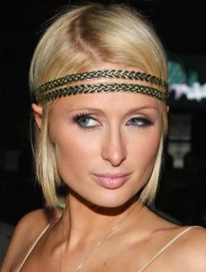 model potongan rambut diikat kedepan wanita tahun 2009