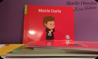 livres histoire de France enfant Quelle Histoire marie curie