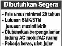 Lowongan Kerja UD Aircontek