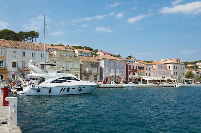 Port, marina, Chorwacja wakacje