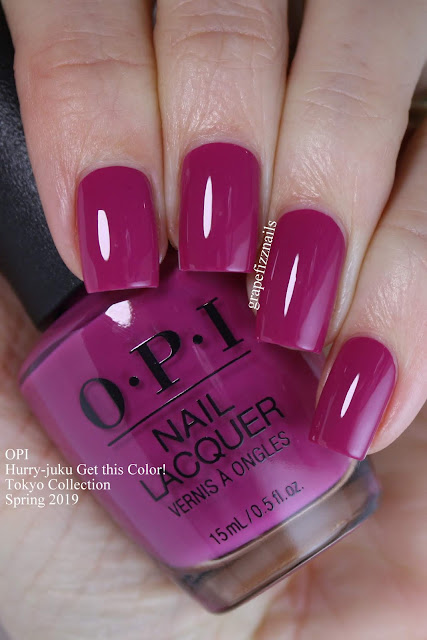 Hurry-juku Get this Color! OPI Tokyo Collection Spring 2019