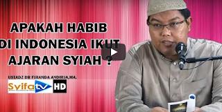 Apakah Habib di Indonesia Ikut Ajaran Syiah? Ini Penjelasan Dr. Firanda Andirja, MA
