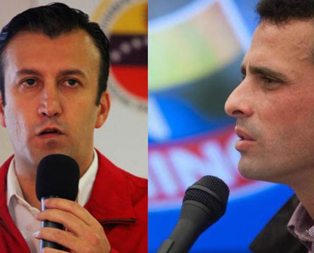 Capriles sobre tuits de El Aissami: Yo no sé si estaba borracho u otra cosa