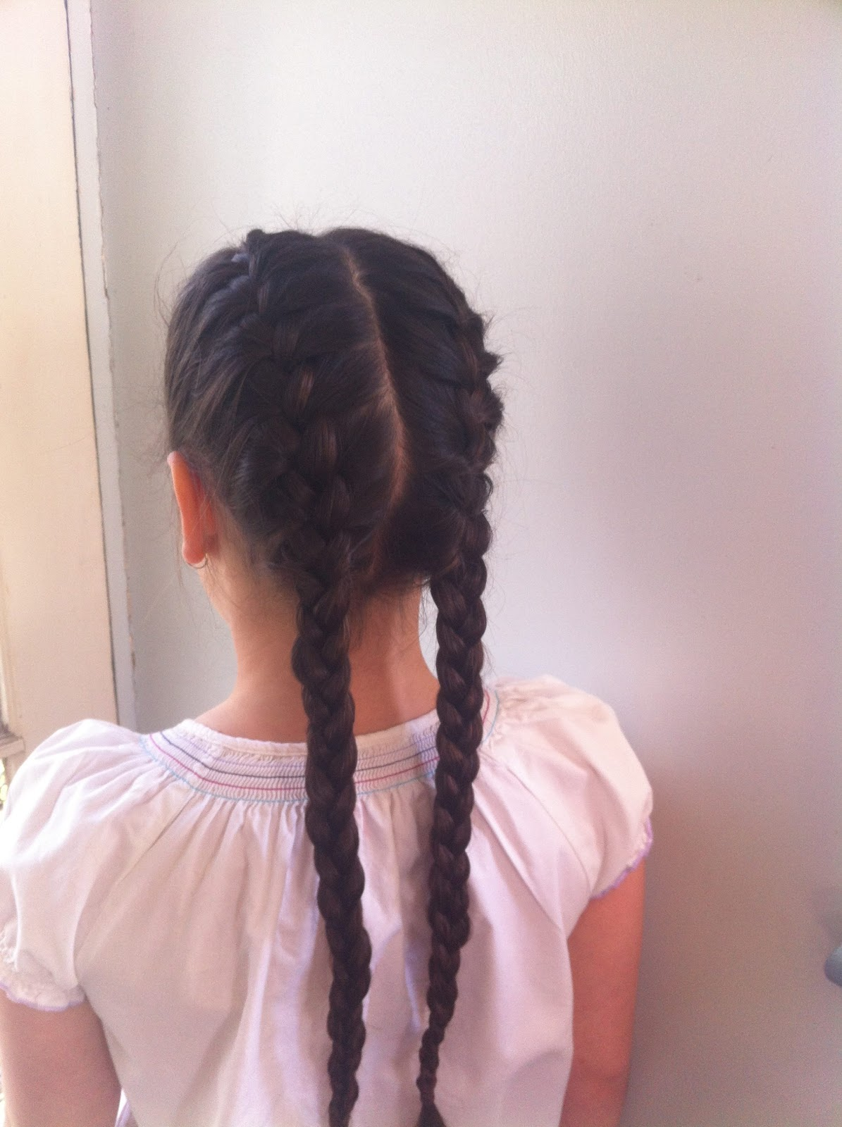 twin french braids rapunzels mother