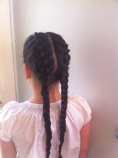 twin french braids rapunzel s mother