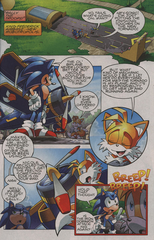 Read online Sonic The Hedgehog comic -  Issue #208 - 4