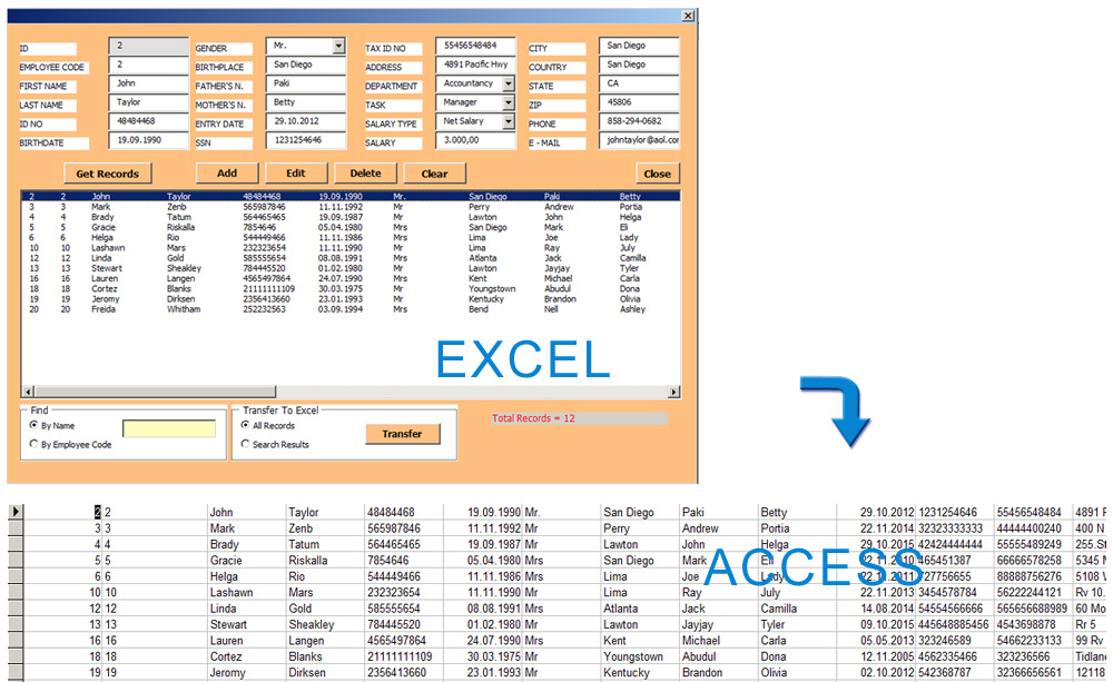how to create your own price tags in access amp excel - 1000×613
