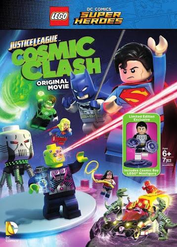 Lego DC Comics Super Heroes: Justice League – Cosmic Clash (BRRip 720p Dual Latino / Ingles) (2016)