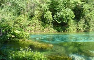 Ojo Azul o  Blue Eye, Albania.
