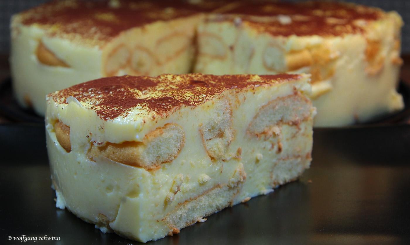 Wolfgang Schwinn Durlach Helsa Loffelbiskuit Pudding Torte