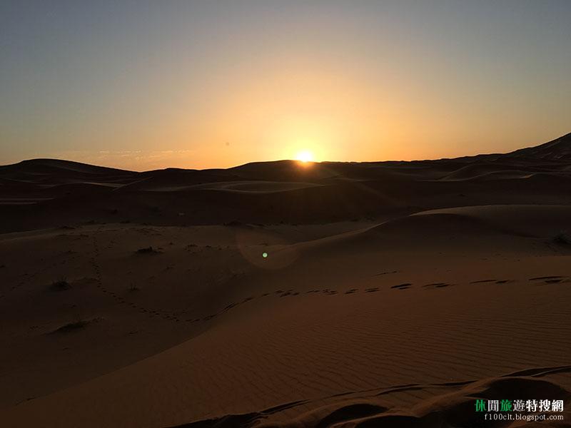 北非摩洛哥冒險記第7天:清晨起床見沙漠中的日出 下午奔波前往馬拉喀什