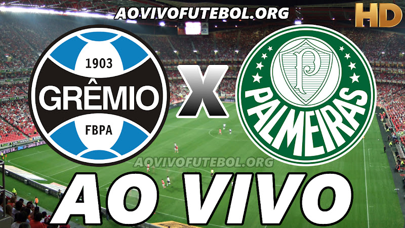 Grêmio x Palmeiras Ao Vivo na TV HD