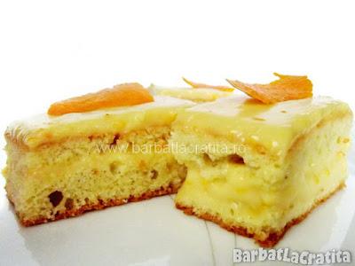 Trei prajiturele cu portocale (imaginea retetei)