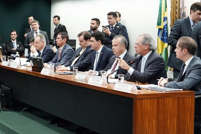 Paulo Guedes defende reforma da Previdência, fala em combate de privilégios e aumento da igualdade
