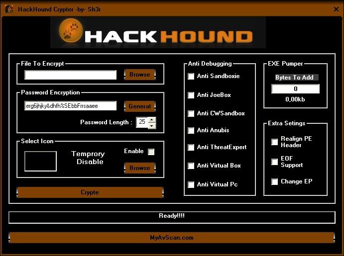 hackhound crypter