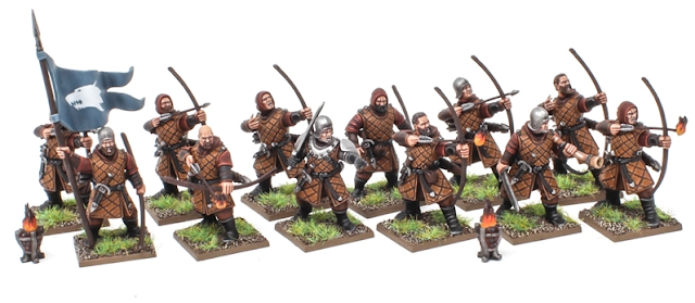 Fireforge Games Forgotten World Plastic Northern Bowmen Painted
