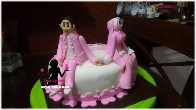 Kue Tart 3d Ulang tahun Pernikahan