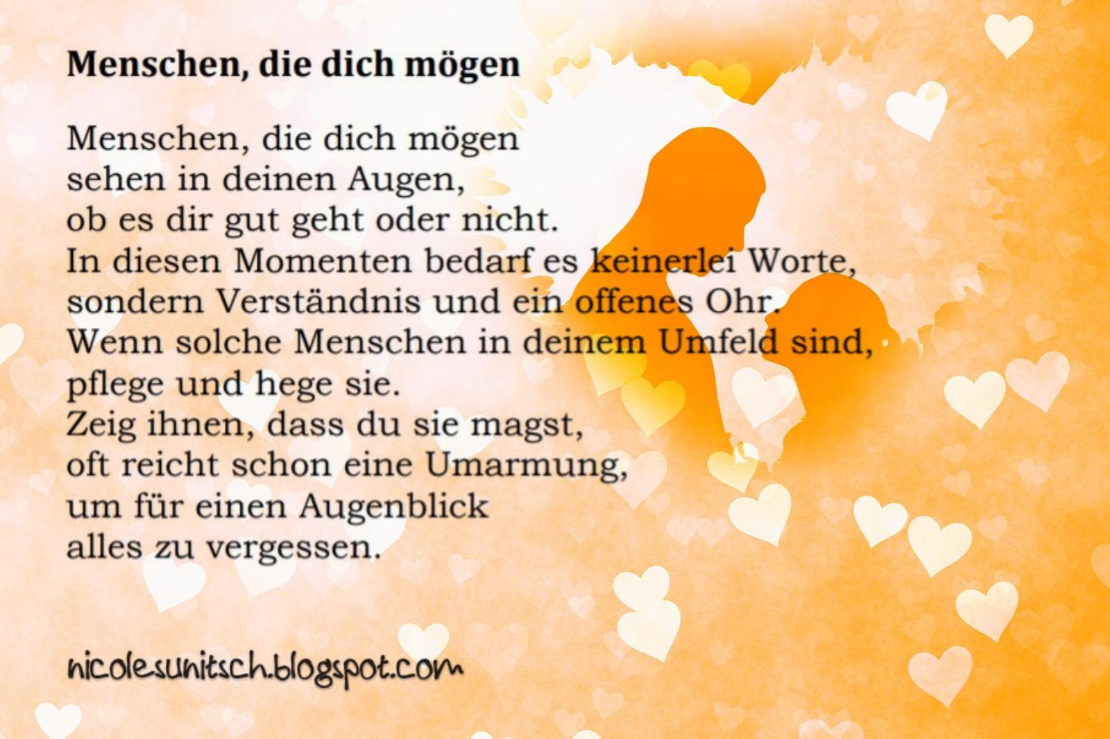 Gedichte Von Nicole Sunitsch Autorin Spruche Menschen Aus