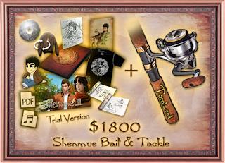 """Bait & Tackle"" Kickstarter reward"