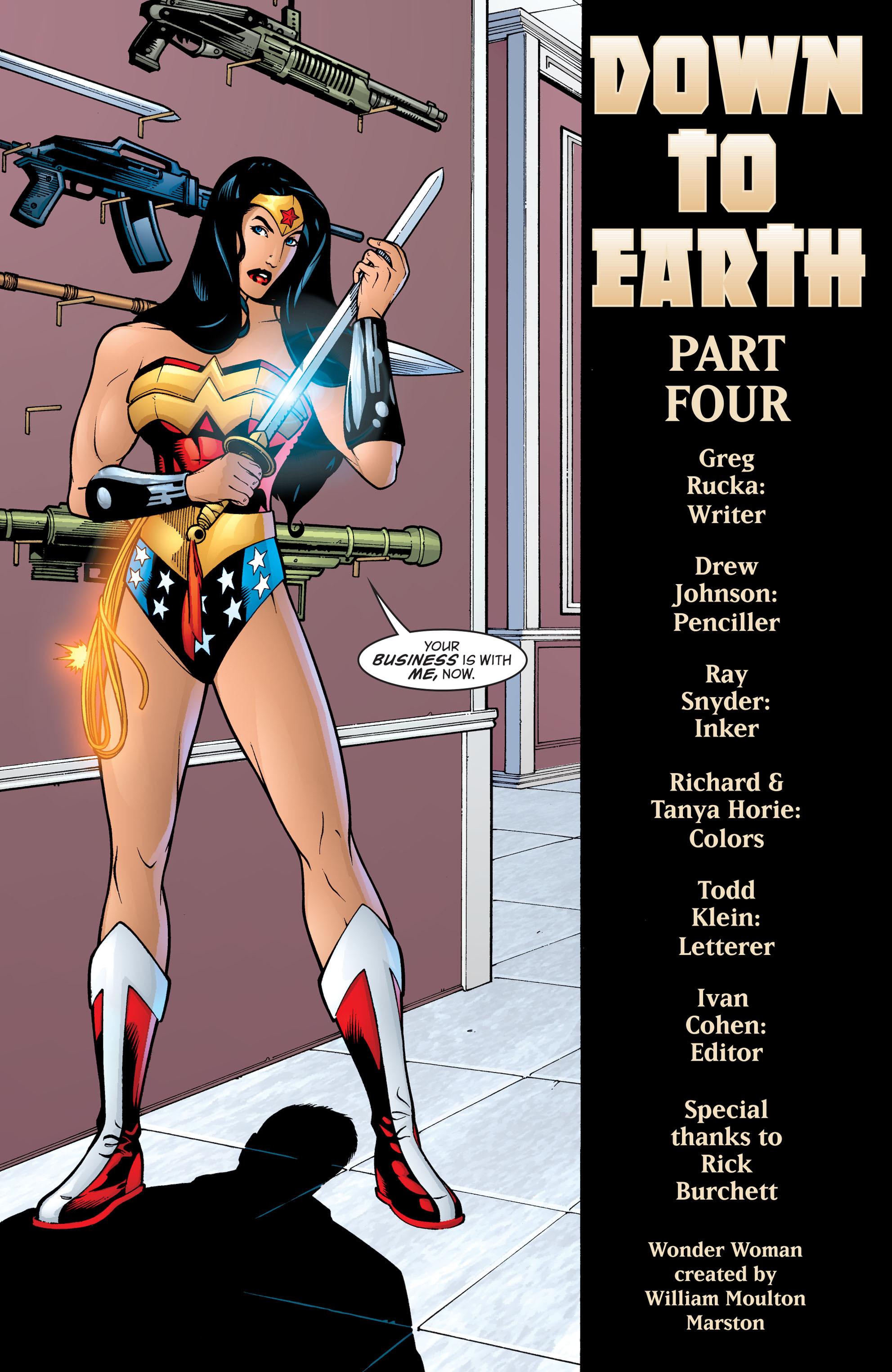 Read online Wonder Woman (1987) comic -  Issue #199 - 7