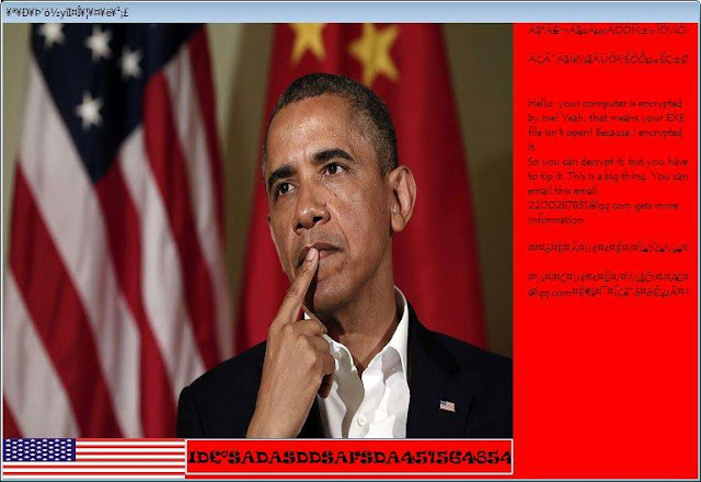 Nuevo Ransomware Obama encripta archivos .exe