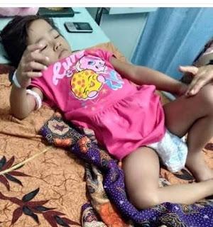 Bella Penderita Kanker Sel Vagina dari Cirebon Membutuhkan Bantuan