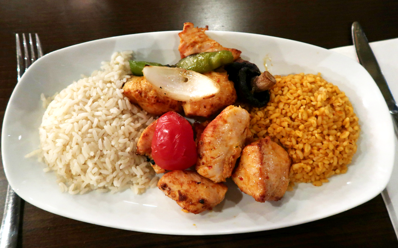 Traditional Turkish Grill at Zeytin Greenwich Restaurant Review Chicken