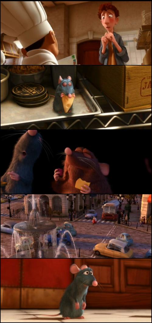 Resultado de imagen para Ratatouille (2007) capturas