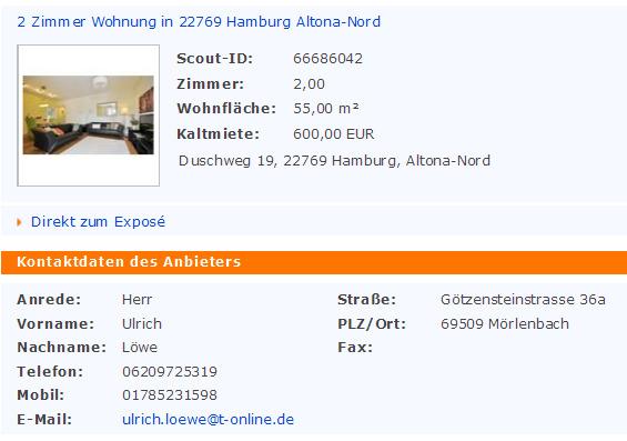 2 zimmer wohnung in 22769 hamburg altona nord duschweg 19 22769. Black Bedroom Furniture Sets. Home Design Ideas