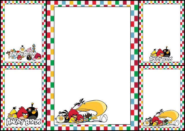 Angry Birds Free Printable Invitations, Cards or Images.