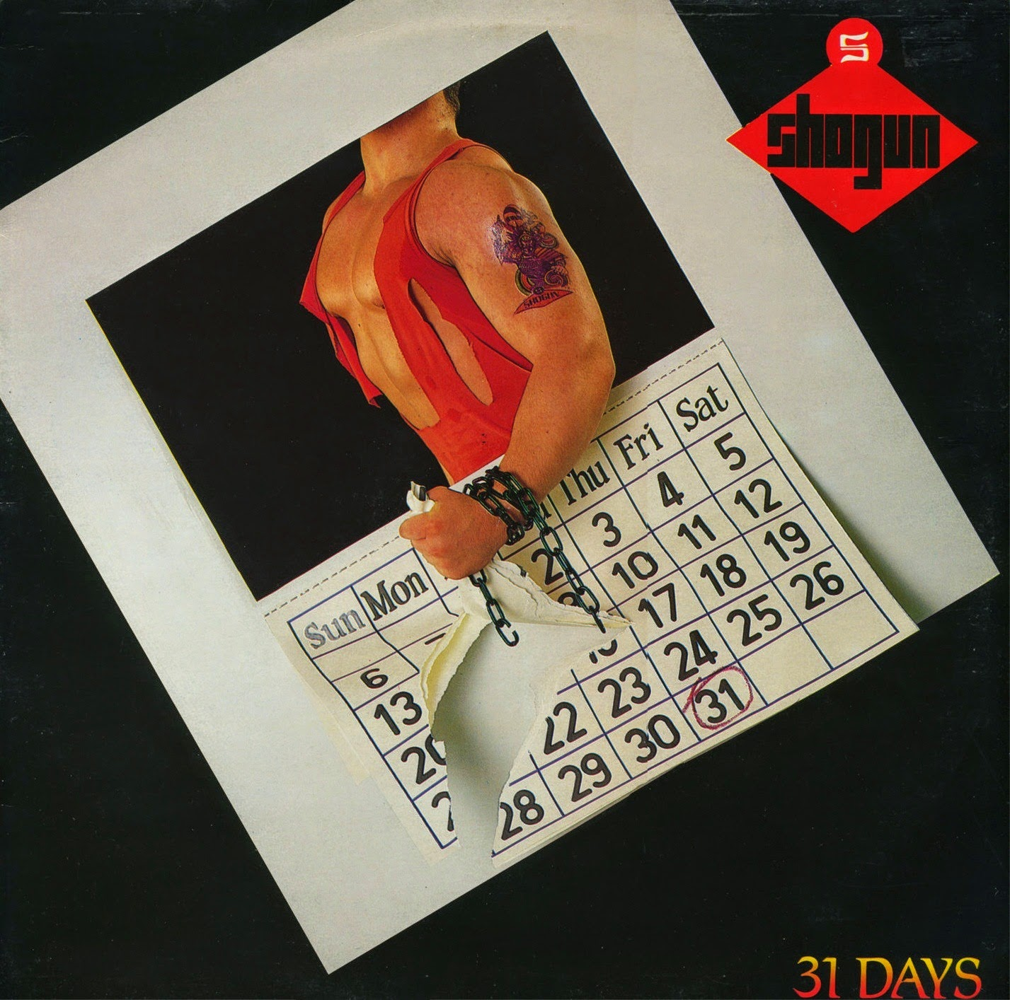 Shogun 31 days 1987 aor melodic rock