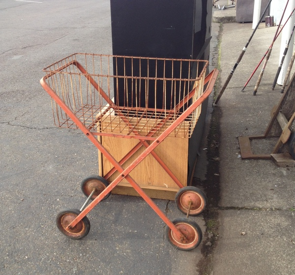 Wheeled Laundry Cart