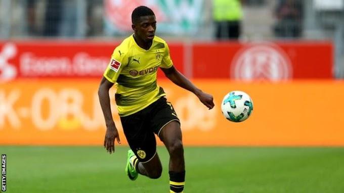 Ousmane Dembele: Barcelona agree £135.5m deal for Dortmund forward