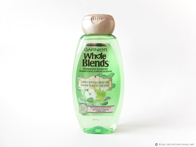 Garnier Whole Blends - Green Apple & Green Tea Refreshing Shampoo Review