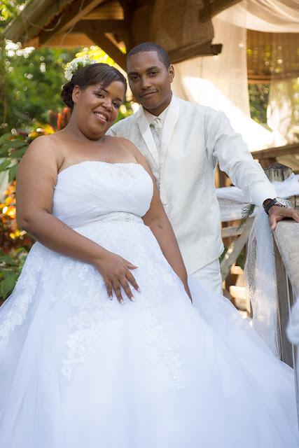 mariage-Guadeloupe-Bouillante-les mariés