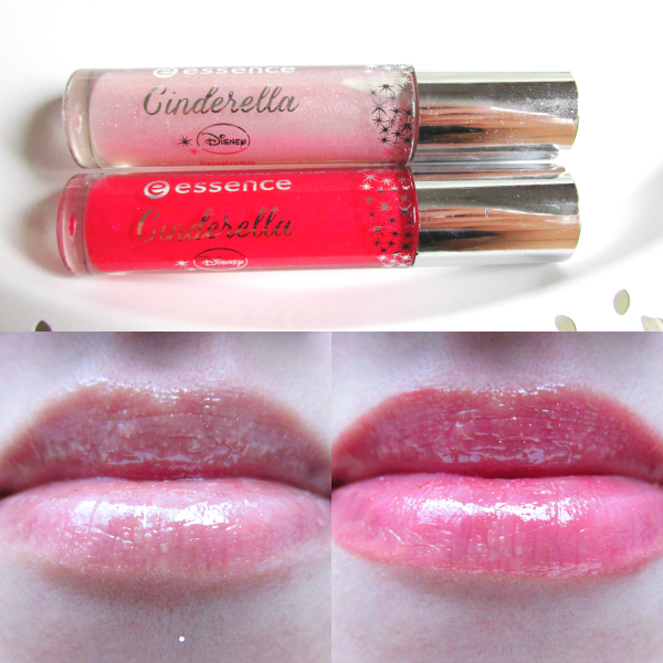 essence Cinderella Lipgloss - 01 Swing, Sweet Nightingale & 02 So This Is Love - Tragebilder