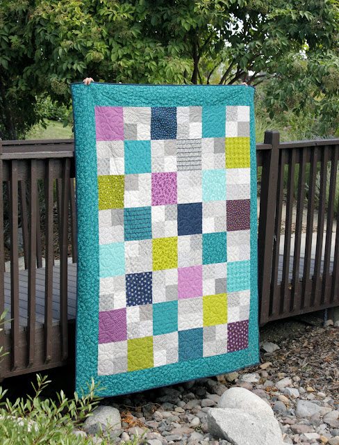 Layer Cake Checkmate quilt pattern