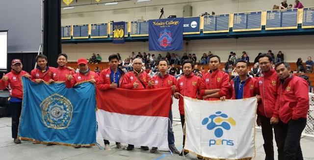 Membanggakan,Mahasiswa Indonesia Jadi Juara Kontes Robot Di Amerika Serikat 2017