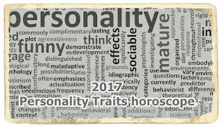 2017 Personality Traits horoscope zone aries taurus cancer leo