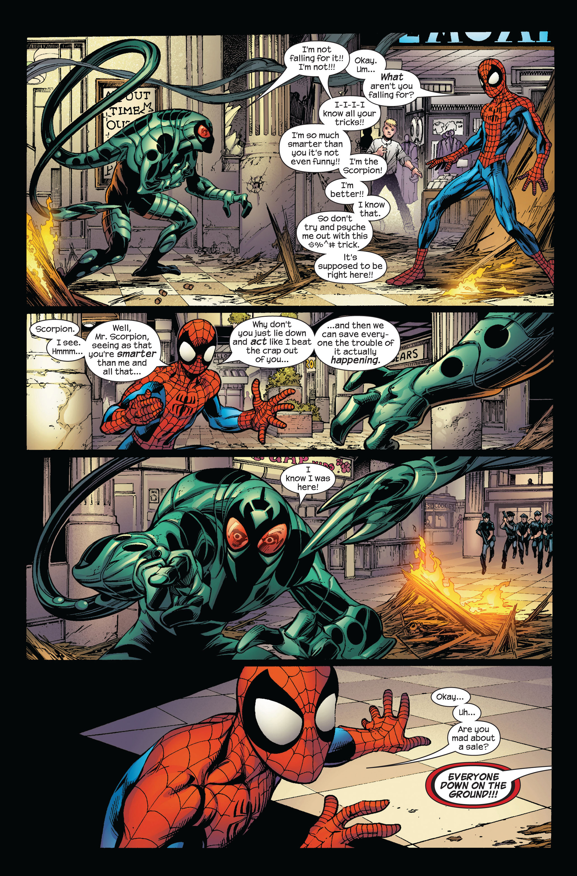 Read online Ultimate Spider-Man (2000) comic -  Issue #97 - 14