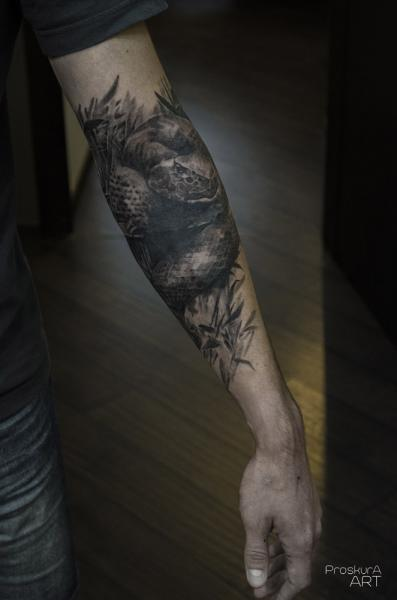 Permalink to Snake Tattoos For Women Forearm
