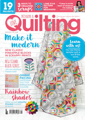 Love Patchwork and Quilting Magazine Issue 86