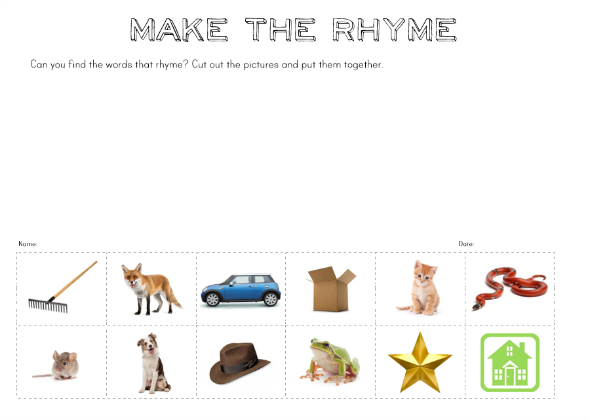 My Must Have Item - sharing my must have item for this year at school from a classroom teacher plus free Make a Rhyme printable | you clever monkey